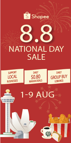Shopee SG 8.8 National Sale